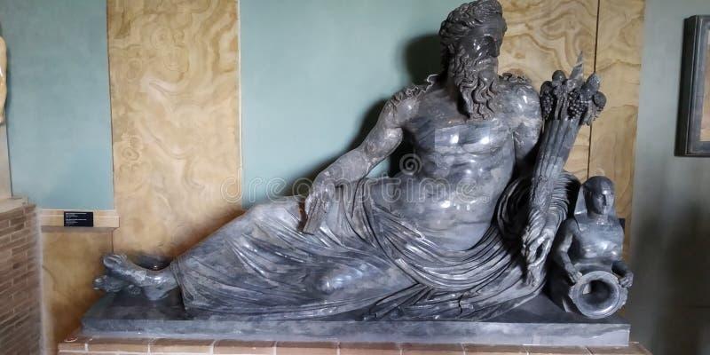 Sculpture romaine en statue, musée de Vatican photo libre de droits