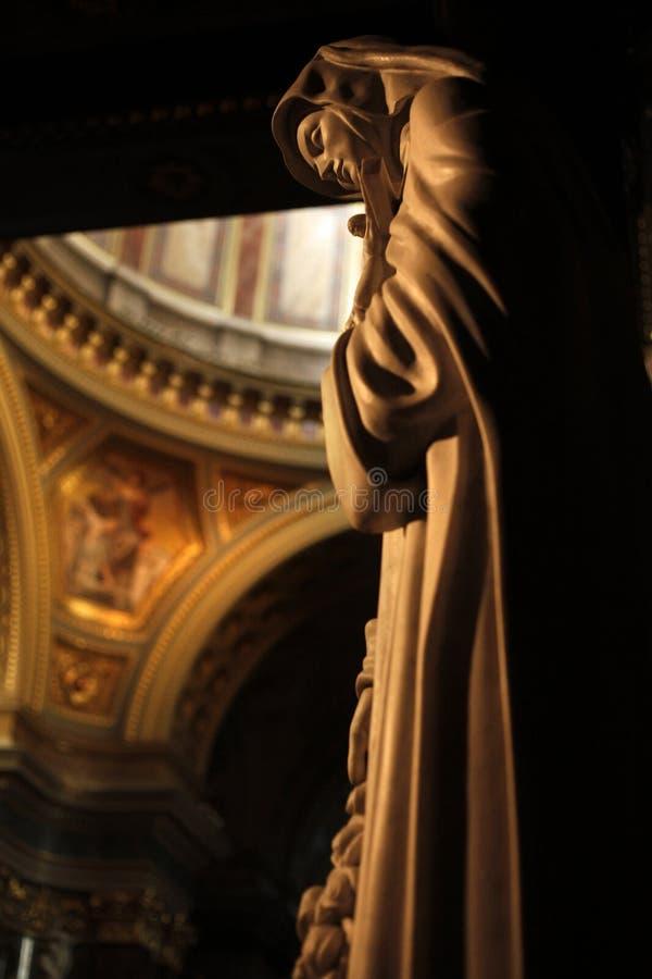 Saint Teresa stock photo