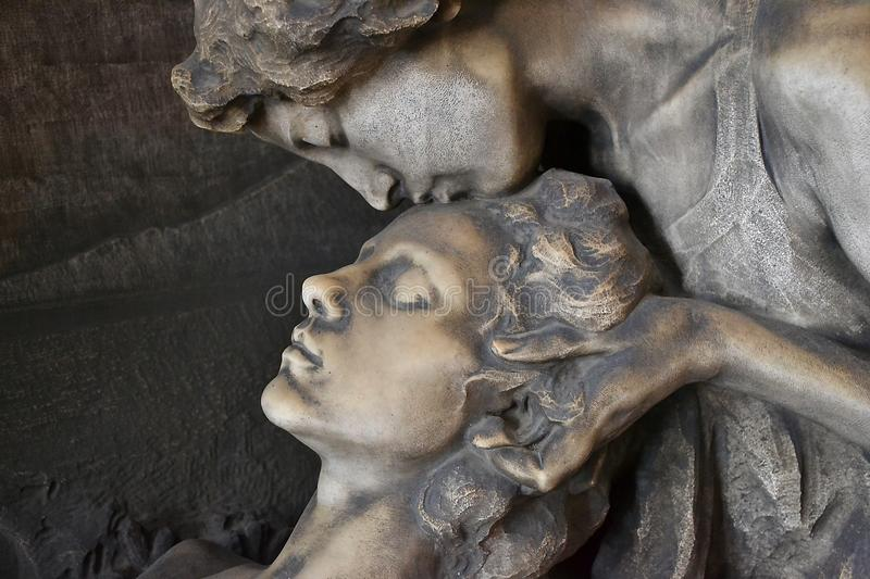 Sculpture, Statue, Head, Stone Carving stock images