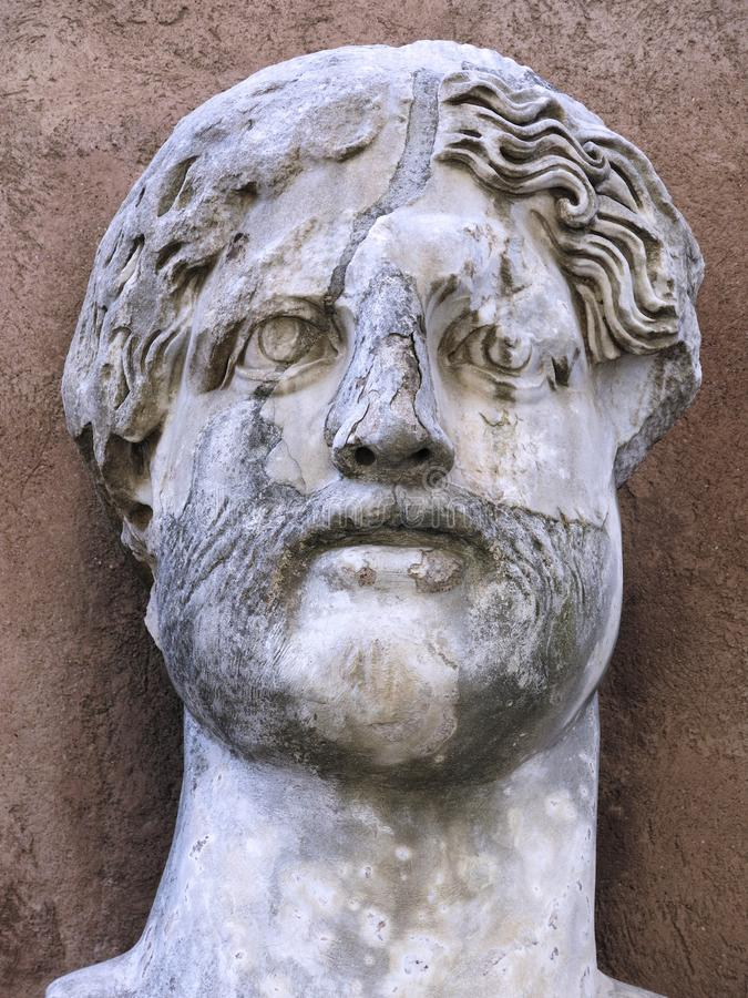 Sculpture, Stone Carving, Statue, Head royalty free stock image