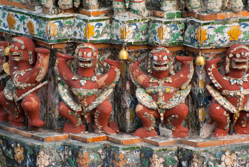 Sculpture thaïlandaise image libre de droits