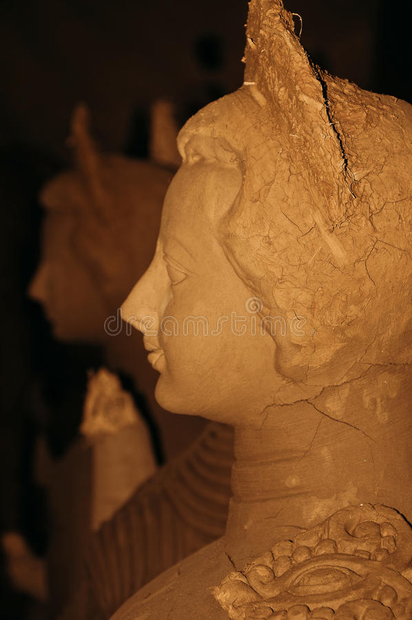 Sculpture władyki Viswakarma baba fotografia royalty free