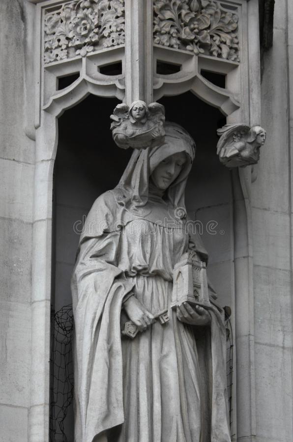 Sculpture in Westminster Palace. London, UK, statue, sculptures, bas-relief, houses, parliament, ancient, white, marble, stone, architecture, britain, british stock photos