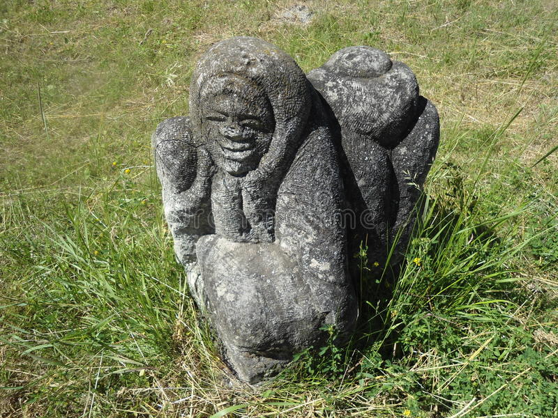 Sculpture Women royalty free stock photos