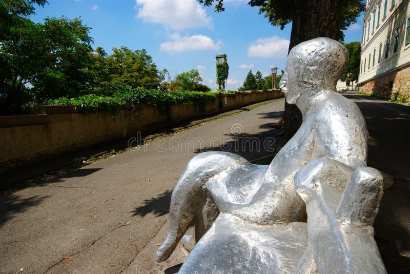 Sculpture, Zagreb, Croatie photos stock