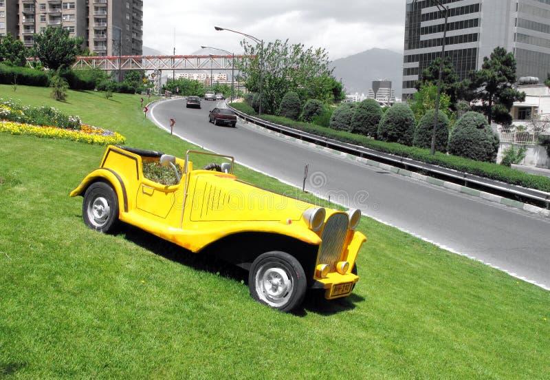 Sculptured car