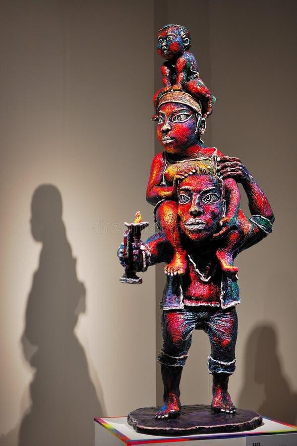 Sculptures Editorial Photo