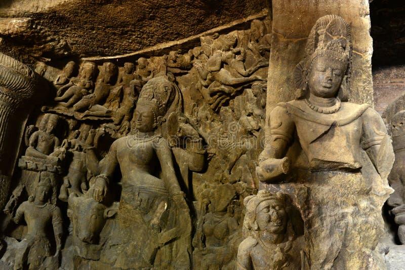 Sculptures antiques photo libre de droits