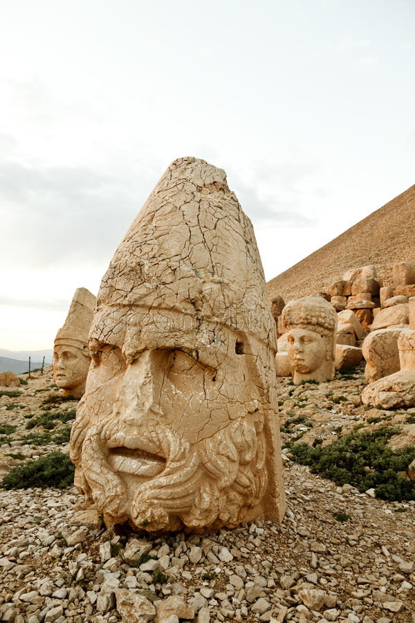 Download Sculptures Of The Commagene Kingdom, Nemrut Mountain Stock Photo - Image: 31369638