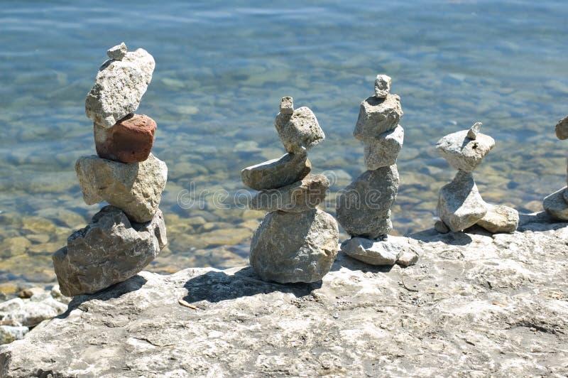Sculptures en pierre indiennes photos libres de droits