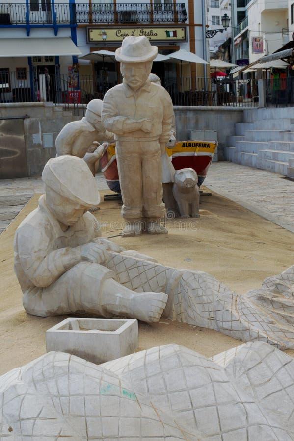 Sculptures faites de sable 13 images libres de droits