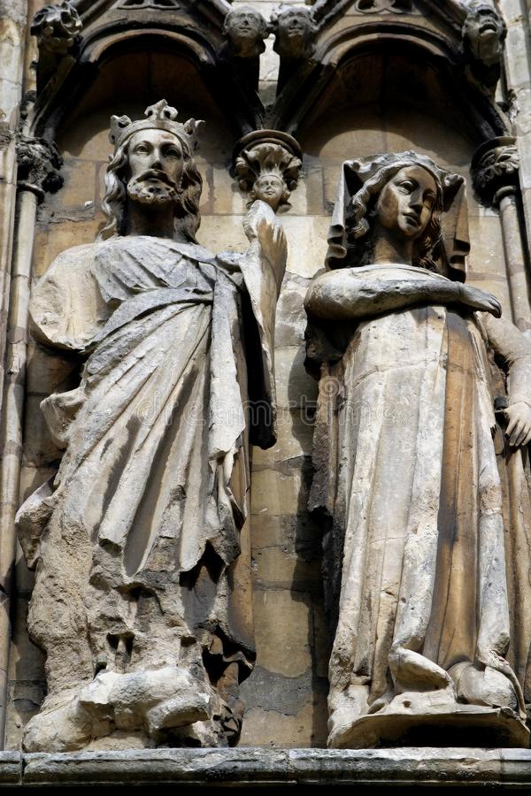 Download Sculptures Lincoln Cathedral Stock Image - Image of carvings, tourism: 1828509