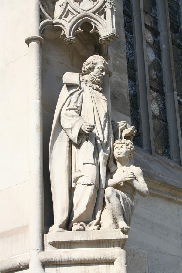 Sculptures religieuses images libres de droits