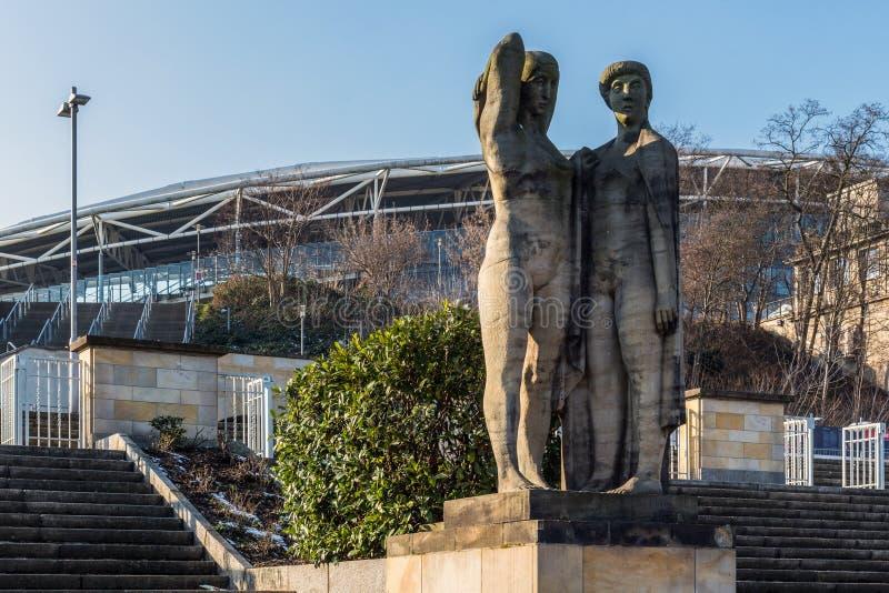 Sculptures socialistes en réalisme image libre de droits