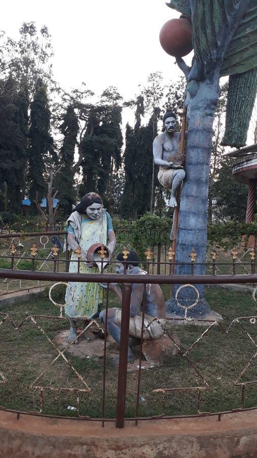 Sculptures of Araku Valley royalty free stock photography