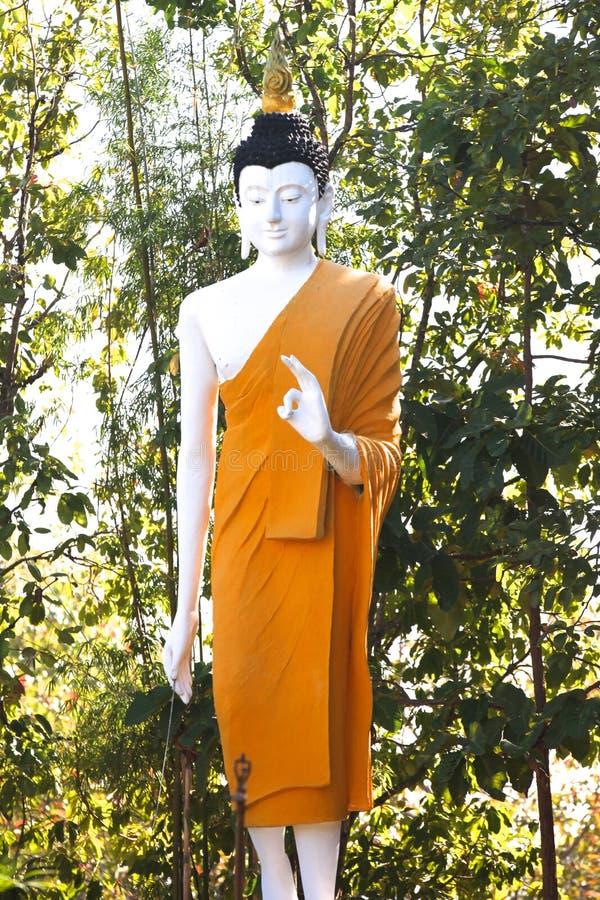 Scultura, architettura e simboli di buddismo, Tailandia fotografia stock libera da diritti