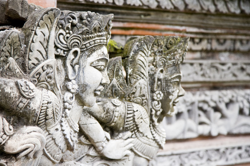 Scultura del Bali fotografia stock