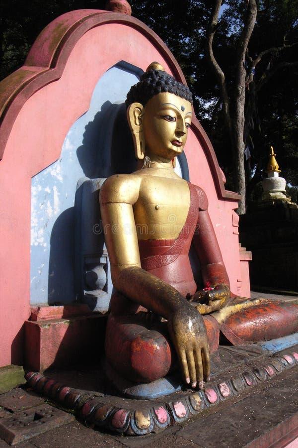 Scultura del Buddha a Phnom Penh fotografie stock libere da diritti