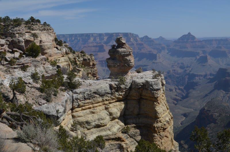 Scultura del grande canyon fotografie stock