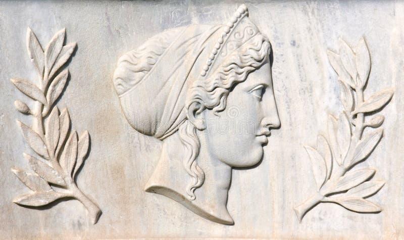 Scultura del greco antico fotografia stock libera da diritti
