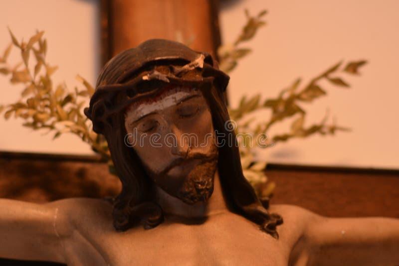 Scultura di Gesù Cristo fotografia stock libera da diritti