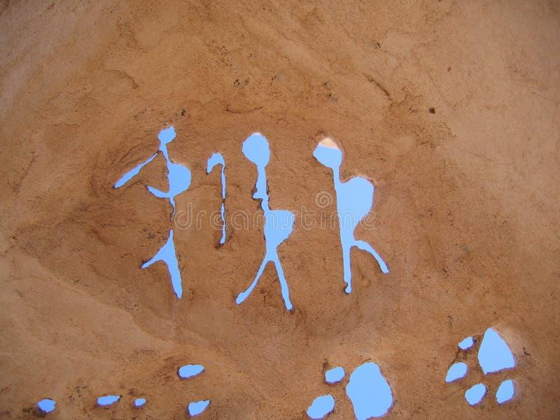 Scultura di Kokopellis immagine stock