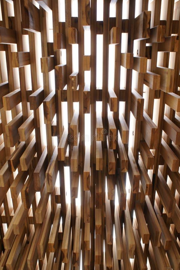 Scultura di legno immagine stock libera da diritti