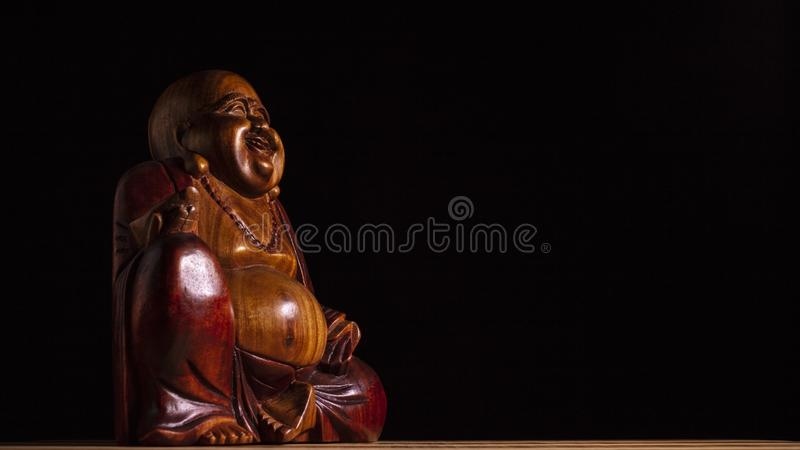Scultura di Maitreya fotografia stock