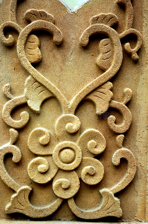 Scultura di pietra immagini stock