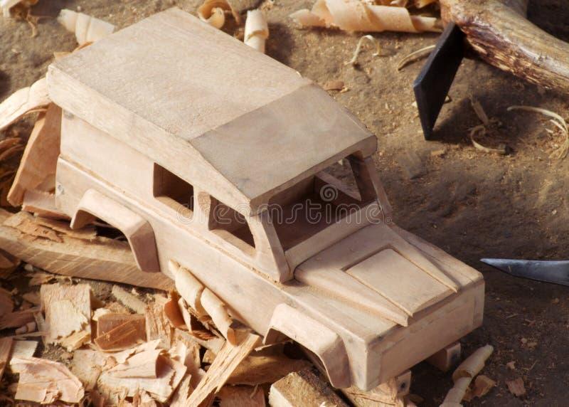 Scultura malawiana di legno fotografia stock