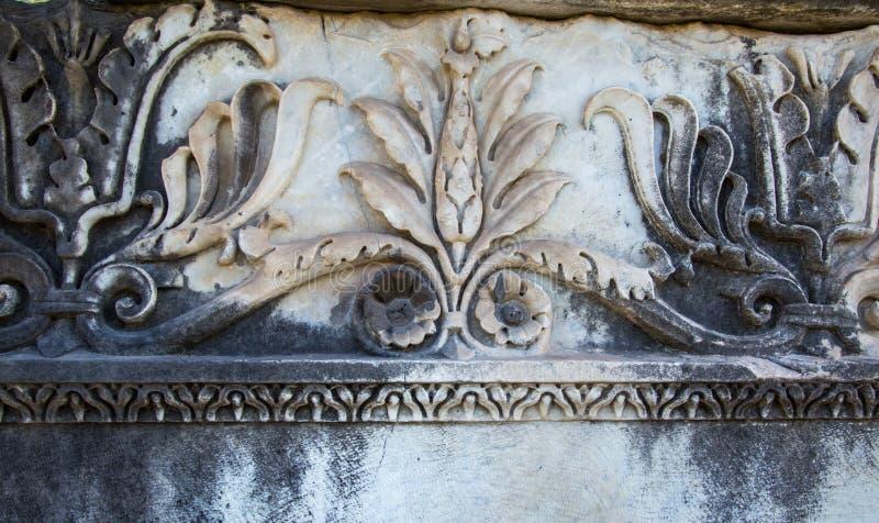 Scultura romana antica immagine stock