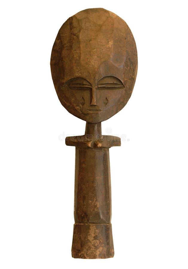 Sculture africano de madeira imagem de stock