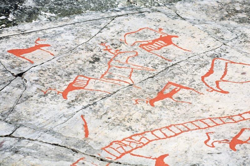 Sculture antiche della roccia immagine stock libera da diritti