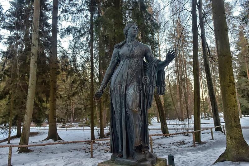 sculture dei bambini di morte Niobe, eseguite secondo la t fotografia stock libera da diritti