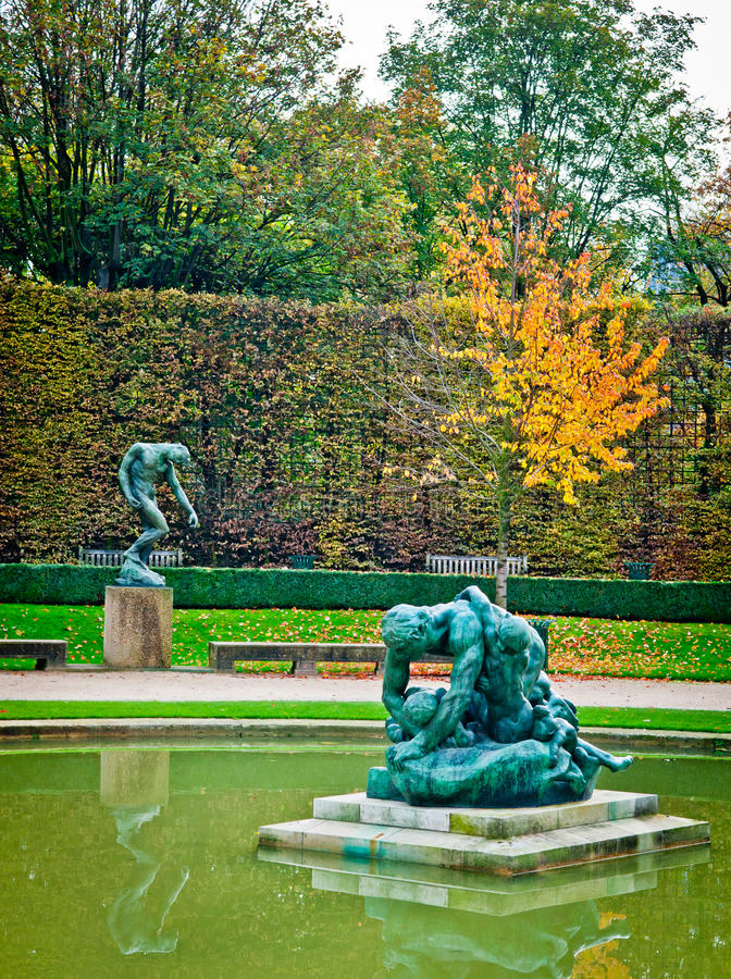 Sculture di Rodin fotografia stock