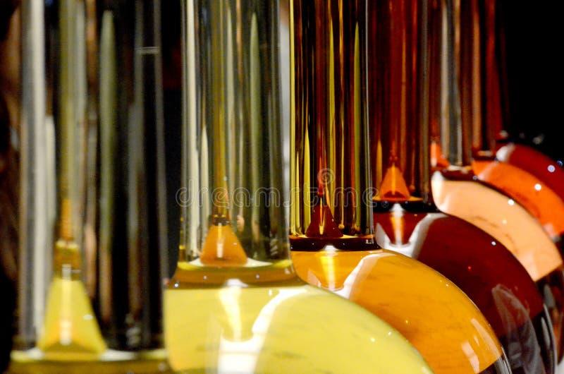 Sculture di vetro immagine stock