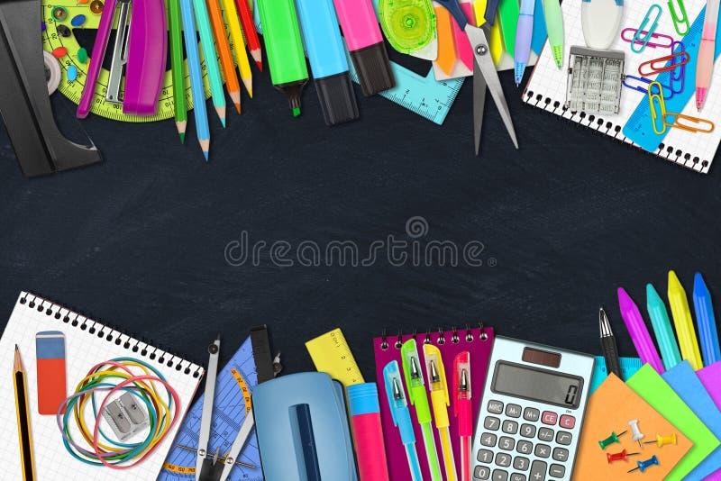 Scuola/articoli per ufficio fotografie stock libere da diritti