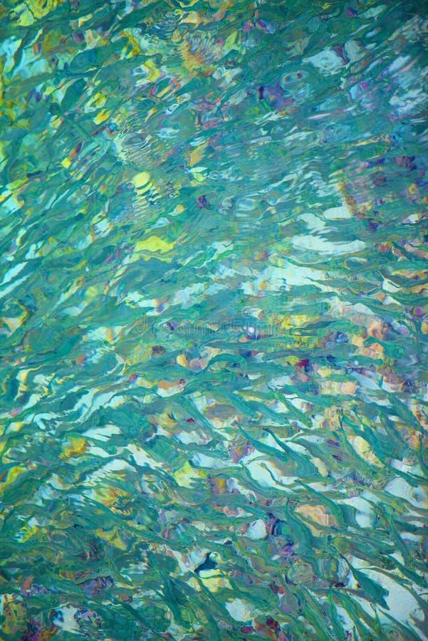 Scuola astratta del pesce immagine stock