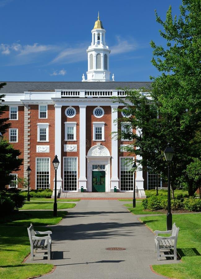 Scuola di commercio di Harvard immagini stock libere da diritti