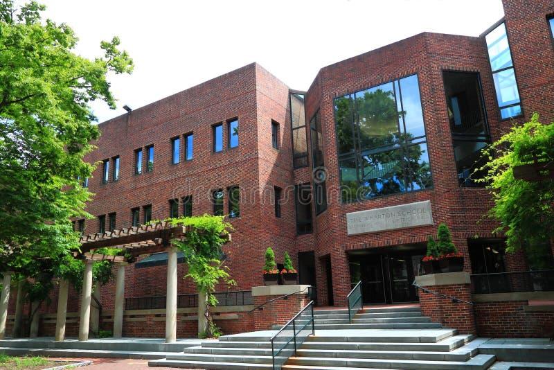 Scuola di commercio di Wharton fotografie stock