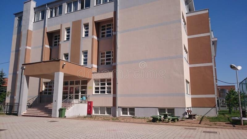 Scuola e dormitorio immagini stock