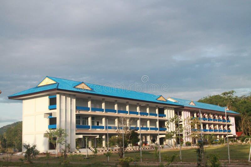 Scuola islamica di Pattani in Tailandia fotografie stock libere da diritti