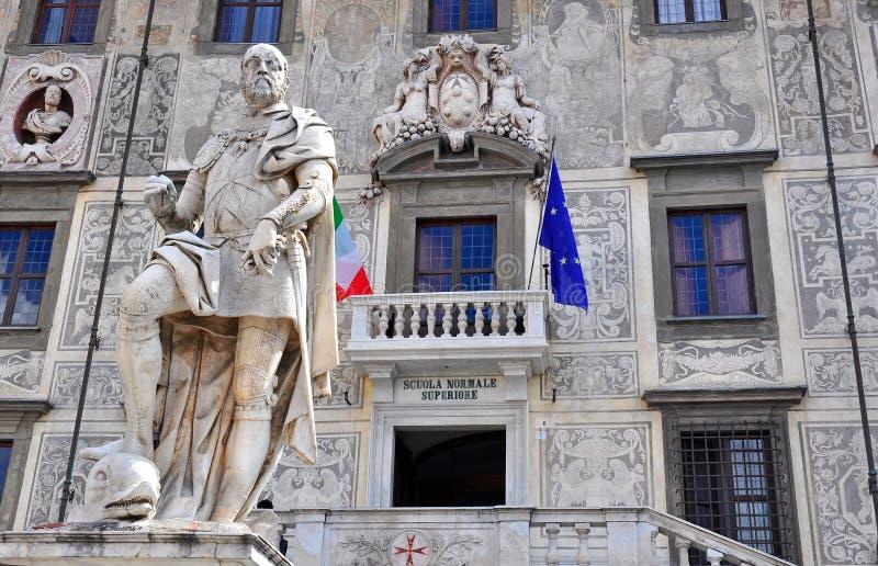 Scuola Normale Superiore en Pisa, Italia imágenes de archivo libres de regalías