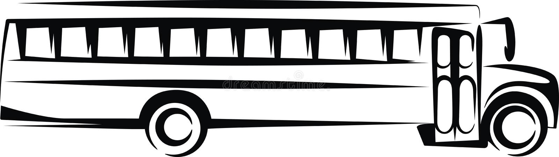 Scuolabus royalty illustrazione gratis
