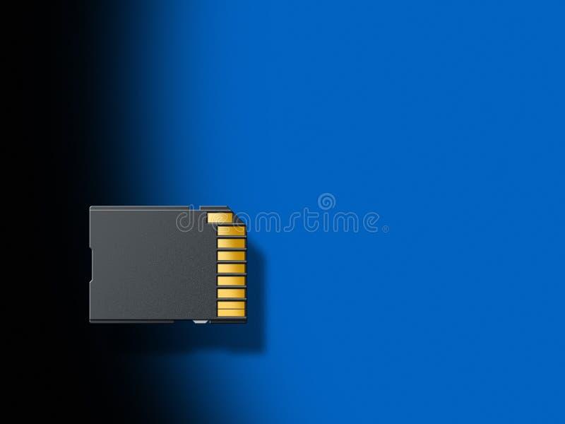 Download SD card stock illustration. Illustration of amount, black - 14123796