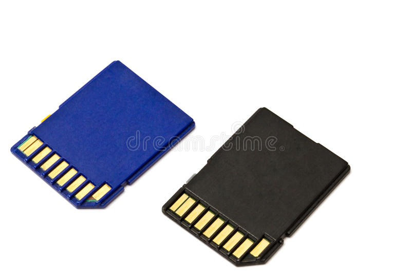 SD cards royalty free stock image