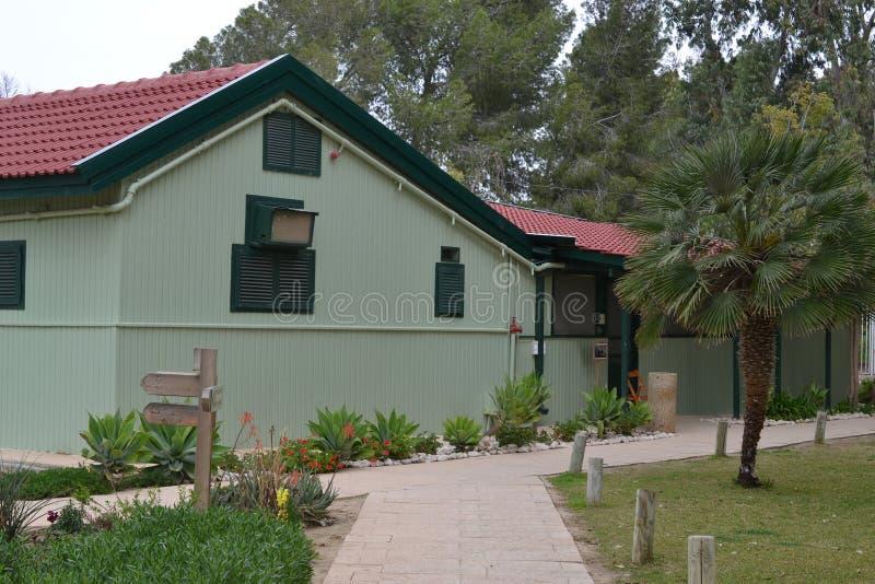 Sde Boker, дом Бен Gurion дом престарелых израильского Премьер-министра Давид Бен-Гурион и его жены Паула, Израиля стоковое изображение