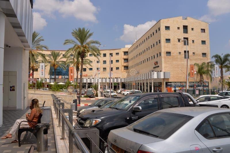Sderot stadmitt, Israel, #1 royaltyfri bild