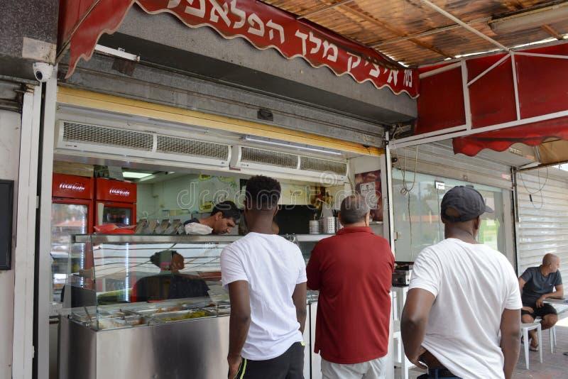 Sderot stadmitt, Israel, #6 royaltyfri bild