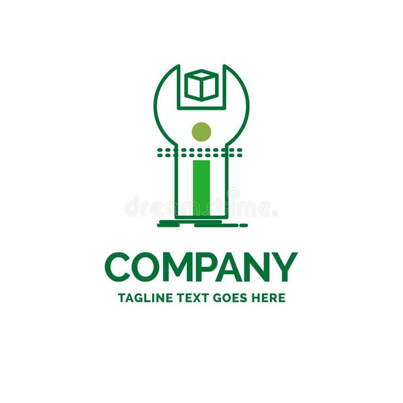 SDK, App, Entwicklung, Ausrüstung, flaches Geschäfts-Logo Programmierungstempl lizenzfreie abbildung